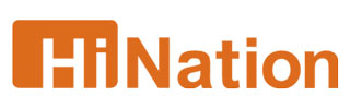 HiNation's logotype