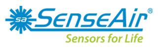 SenseAir's logotype.