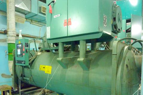 Technical equipment. Photo.