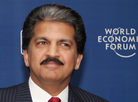 Anand Mahindra. Photo.
