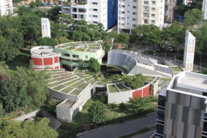 CII building from above. Photo.