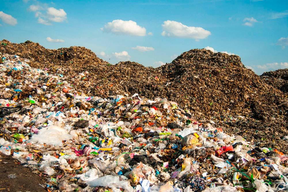 Landfill. Photo.